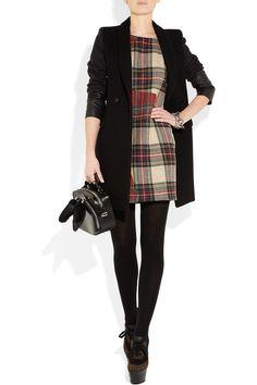 RAG & BONE Saami plaid wool shift dress $450 - I heart this!