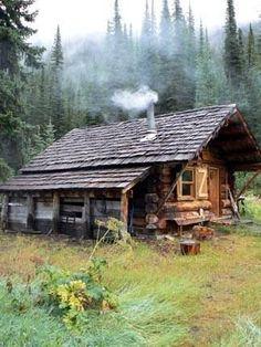 Yummmm cozy little cabin #CoolPlaces