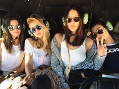 Kendall Jenner, Hailey Baldwin, Gigi & Bella Hadid - Monaco Grand Prix 2015