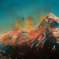 Mountain by Andreas Lie