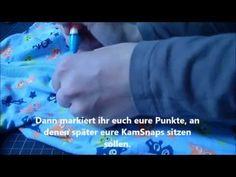 ▶ Kam Snaps anbringen Tutorial - Anleitung deutsch (Druckknöpfe) - YouTube