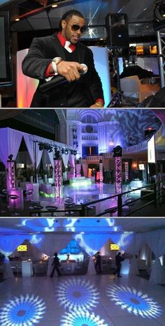 Experience a night of non-stop interactive entertainment with the best DJs and MCs of this company. They also provide photo favors, recording booths, lounge furniture, carnivals and casinos, among others.