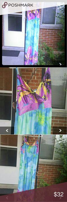 Morefeel Maxi Dreww Brand new Maxi dress tag say 4x fits like 2-3x morefeel  Dresses Maxi
