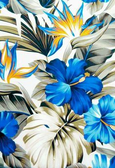 New Wallpaper Iphone Vintage Love Floral Prints Ideas New Wallpaper Iphone, Flower Phone Wallpaper, Trendy Wallpaper, Cute Wallpaper Backgrounds, Flower Backgrounds, Tropical Wallpaper, Colorful Wallpaper, Tropical Art, Vintage Flowers
