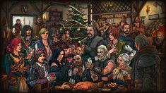 ArtStation - New Year - The Witcher 3, Maxim Samarin