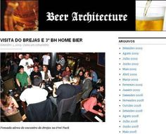 O assunto desta semana no ótimo blog Beer Architecture foi a visita do BREJAS à Rota Cervejeira de Belo Horizonte. Clique na imagem acima para ler a