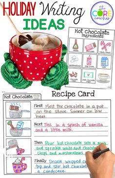 Recipe Writing for P