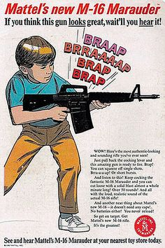 Little boy love guns. They love pretending to shoot guns. In fact, boys probably pretended to shoot guns before they were actually invented. Looking back at my own childhood, a virtual arsenal of toys guns was scattered throughout the neighborhood:. Vintage Comic Books, Vintage Comics, Vintage Ads, Funny Vintage, Vintage Stuff, Vintage Bizarre, Creepy Vintage, Mad Men, Les Aliens