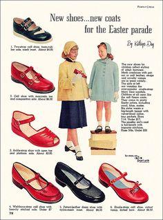 1953 kids shoes