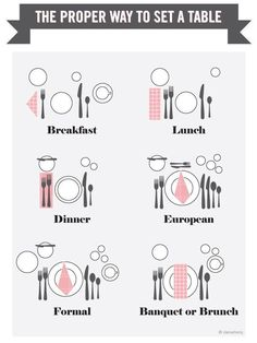 First off, make sure that your table settings are fit for a queen. | 14 Hacks That'll Help The Laziest Person Host A Dinner Party