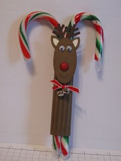 In My Craft Room: Candy Cane Reindeer