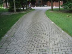 Brick Driveway (heated for snow removal)