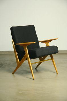 Jose Zanine Caldas; Side Chair, 1960s.