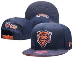 58a7f7fabb6a29 Nfl 2017, Mlb Baseball Caps, Nfl Chicago Bears, Unisex Fashion, Snapback  Hats