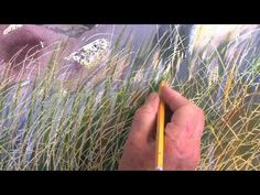 I like how she did the grass.  Watercolour Realism - a different approach. With Elizabeth Tyler.