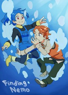 Humanized finding nemo