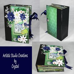 Available now in my etsy shop. Beautiful scrapbook album featuring Peacocks. Come see this and my other one of a kind creations today.  https://www.etsy.com/listing/240505378/peacock-scrapbook-album-peacock-photo If you would like to see a video of the interactive elements you can watch it here https://www.youtube.com/watch?v=bQUP1K9NL1g Follow me at www.facebook.com/ASCbyCrystal Be sure to check my website for blog updates and scrapbook supplies too ascbycrystal.com #scrapbookalbum…