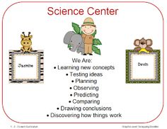 I had a request to do some zoo themed center signs so I did up some tonight and placed them on the 1 - 2 - 3 Learn Curriculum web site. Preschool Center Signs, Preschool Centers, Preschool Curriculum, Preschool Science, Preschool Classroom, Preschool Learning, Science Education, Learning Centers, Science Activities