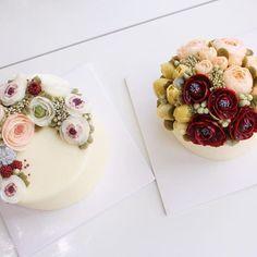 Student's work💕 #꽃#flower #동백꽃#버터크림플라워케이크#flowecake#cake#flowers#fiore#작약#장미#플라워케이크#플라워케이크클래스#케이크#torta#rose#anemone#cooking#baking#dolce#dessert#빵스타그램#buttercream#튤립#tulip#camelia#꽃스타그램 #인계동#blossom#bouquet#bakingclass