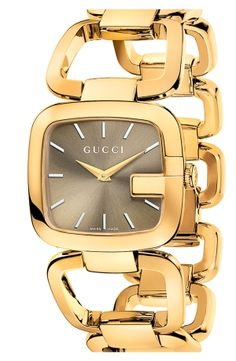 Gucci Bags at Nordstrom | Gucci 'G-Gucci' Bracelet Watch by nordstrom