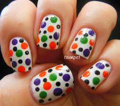 The Crumpet #prom nail art