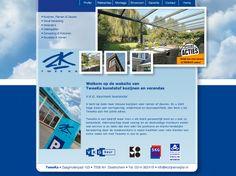Website voor Tweeka kunststof kozijnen, gevel bekleding Veranda's.  http://www.kozijnenwijzer.nl