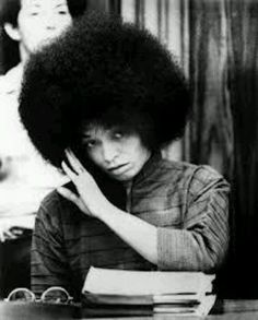 Angela Davis, political activist, scholar, and author. Her membership in the Communist Party led to Ronald Reagan's request in 1969 to have her barred from teaching at any university in the State of California. Angela Davis, Black Power, High Society, Kings & Queens, Photo Star, Black Panther Party, Famous Black, African Diaspora, African American Women