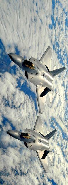F-22 Raptors.