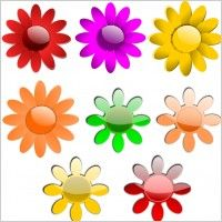 Flowers Vector clip art - Free vector for free download