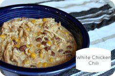 White Chicken Chili-Crockpot style!