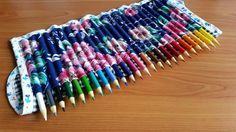 Adult Coloring Pencil Roll - Nina Makes