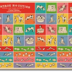 Vintage K-9 Stickers {For The Kids}