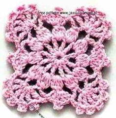 crochet granny squares patterns vierkanten haken haakpatronen