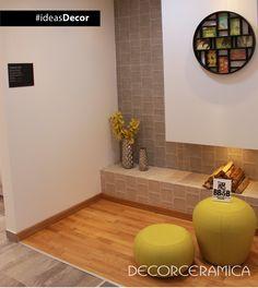 Conoce el #enchape #estilo relieve que solo #Decorceramica te presenta en #ideasDecor http://on.fb.me/1f6ccVA