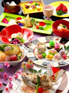 【桃の節句会席】旬を彩る会席料理♪