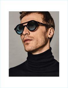 Clément Chabernaud dons Moncler sunglasses for Holt Renfrew. Sunglasses  2017, Mens Sunglasses, Designer 1ad086de97