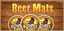 Special edition of Kozel historical beer mats for our fans!