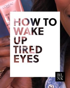 How to Wake Up Tired Eyes #blinkbeauty #undereyes #makeuptutorial #beautytutorial