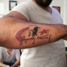 Atatürk dövmesi - Atatürk tattoo by tattoobrothers. Randevu ve fiyat bilgisi için GSM: 05323546726