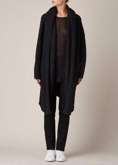 Lauren Manoogian Capote Coat (Black)