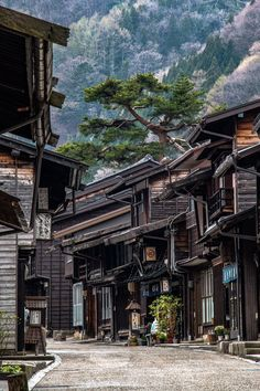 Narai, Japan. If you're going to Japan, this place is worth getting to : travel