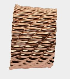 Just Listed Fabulous Corrugated Wave Copper Cuff Bracelet https://www.johnsbrana.com/products/corrugated-wave-copper-cuff-bracelet