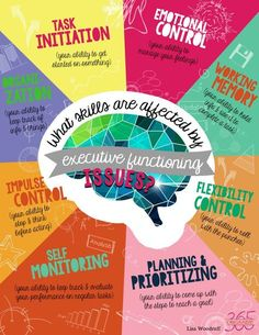 Executive Functioning Infographic