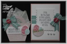 Stamps - Our Daily Bread Designs Blessed Easter, ODBD Custom Eggs Dies, ODBD Custom Grass Border Die, ODBD Shabby Rose Paper Collection