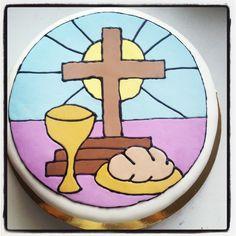Torta Primera Comunión #Holy first comunion cake #first comunion #primera comunion