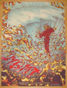 2013 MGMT - Salt Lake City Concert Poster by James Flames