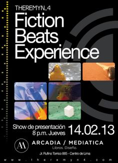 Fiction beats experience Poster