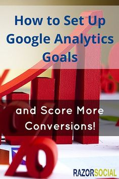 How to Set Up Google Analytics Goals and Score More Conversions! #googleAnalytics #Analytics