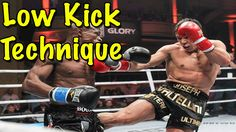 How To Throw a Muay Thai Low Kick