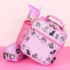 Frenchie lovers? How adorable is our frenchie collection 😍 swipe your see all 😉 #frenchieforever Personalized Lunch Bags, Fashion Backpack, Back To School, Giveaway, Stationery, Product Launch, Backpacks, Rainbow, Pink